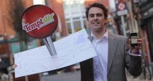 Oliver Fegan of Temptster! Source: http://www.irishtimes.com/business/sectors/technology/restaurant-app-feeding-off-success-on-dragon-s-den-1.1356184