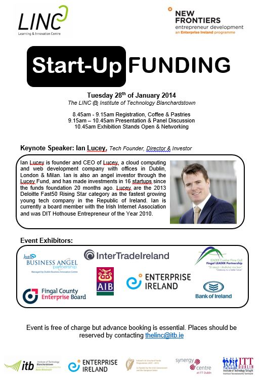 Start-Up Finance Event Invitation