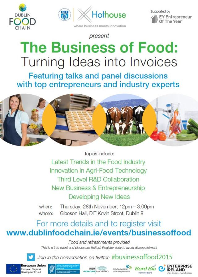 Business of Food Event DIT